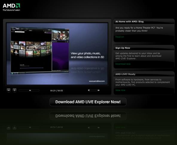 AMD FUSION LIVE
