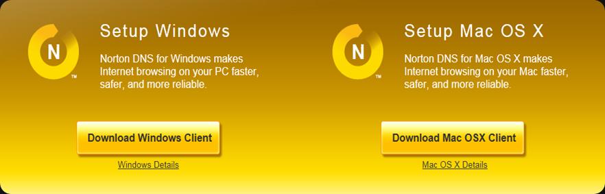 Download Norton DNS beta