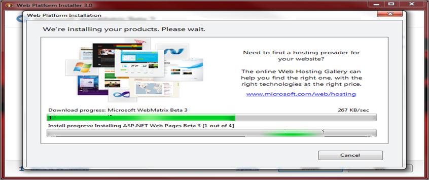 webmatrix beta 3