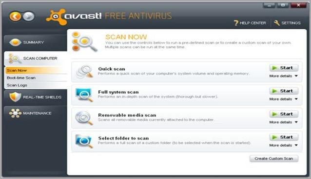 avast v5.1 free