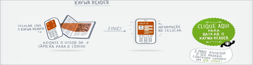 Leitor QR celular