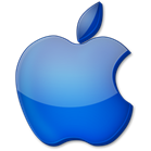 Blue Apple Logo