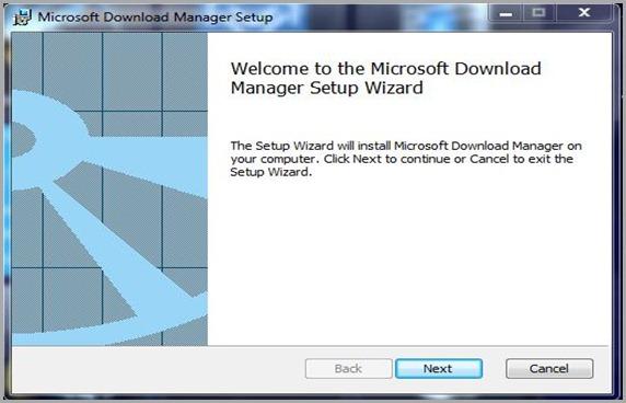 download manager azure