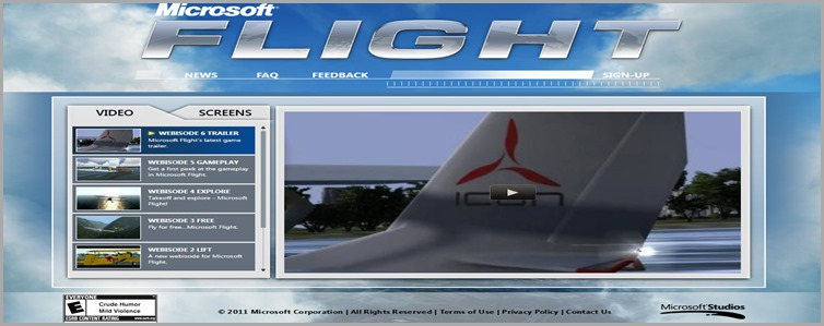 home page Flight