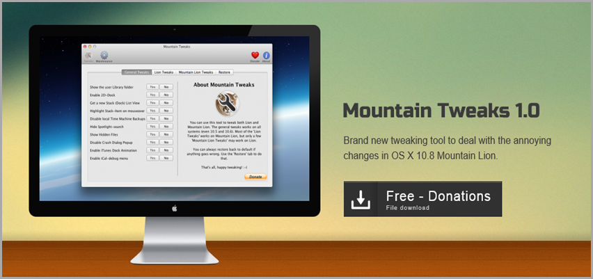 Download Mountain Tweaks 1.0