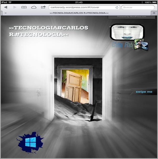 Home Page Carlos R. iPAD