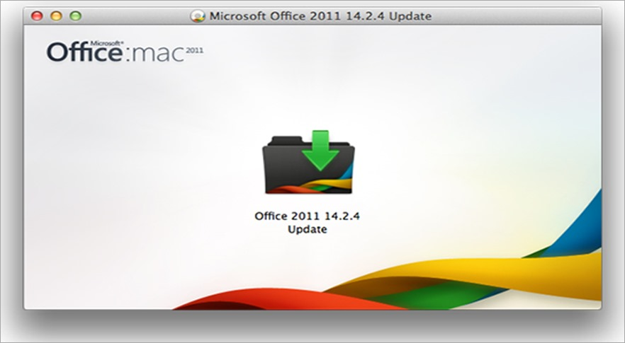 Download Microsoft Office for Mac 2011 update 14.2.4