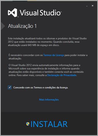 Download Visual Studio 2012 update 1