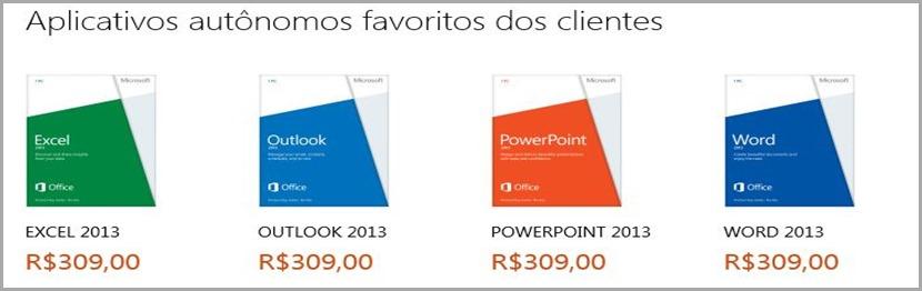 Click na imagem compra Office 2013 Autônomo