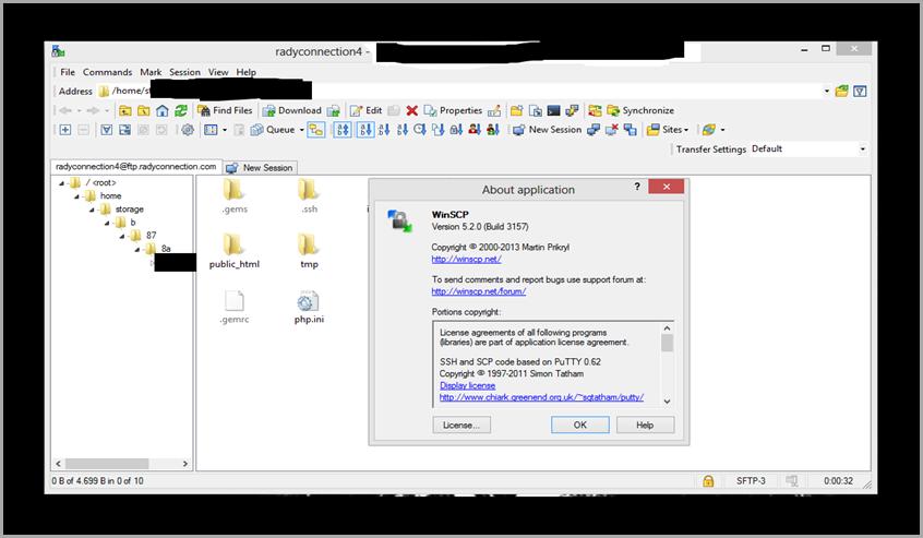 WinSCP 5.2