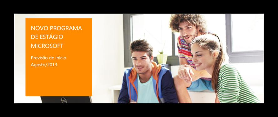 Programa de estagiario Microsoft