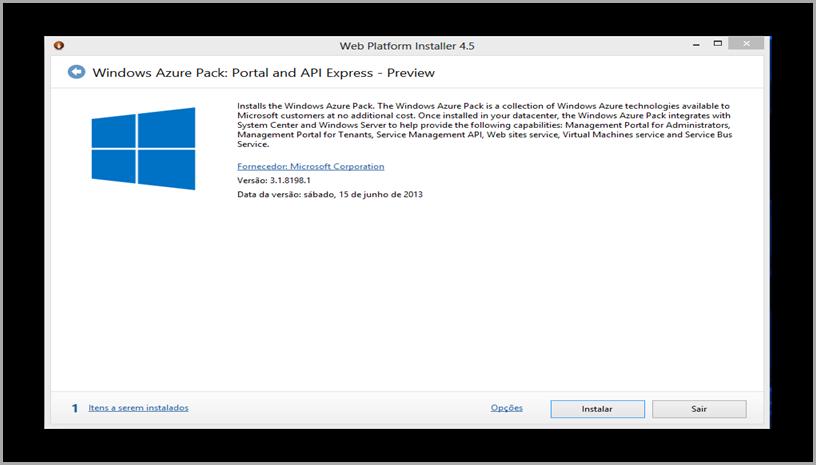 Windows Azure pack download